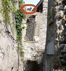 Dans une rue de La Voulte sur Rhône