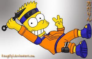 Bart en Naruto