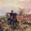 Wellington a Waterloo peinture de Hillingford Robert A.