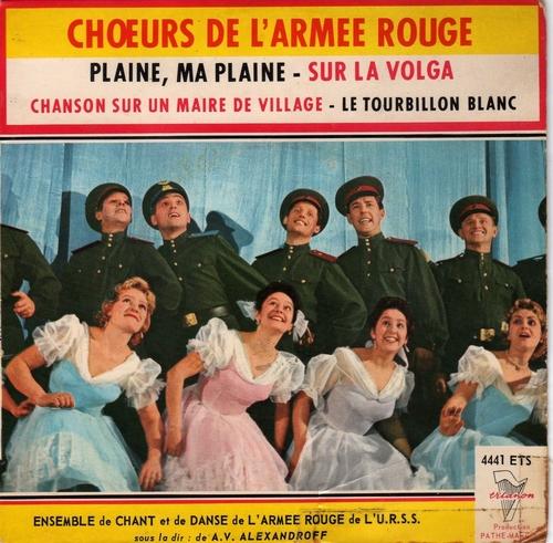 Choeurs De L'Armée Rouge - Plaine, Ma Plaine (1960)