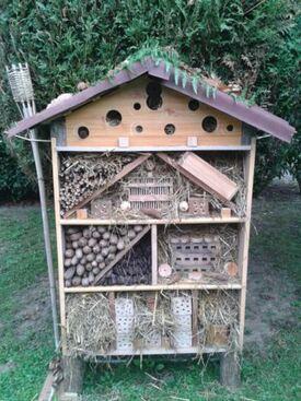 Un hôtel à insectes