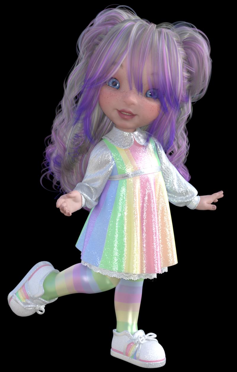 Un amour de fillette Toon : Bugga Boo