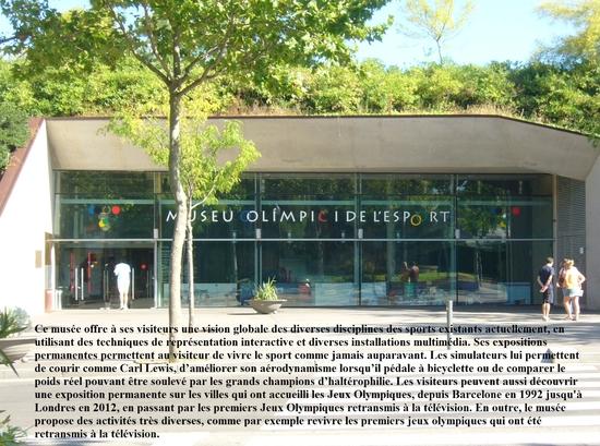 Montjuic - musée des sports