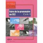 Programmation Faire de la grammaire au ce2