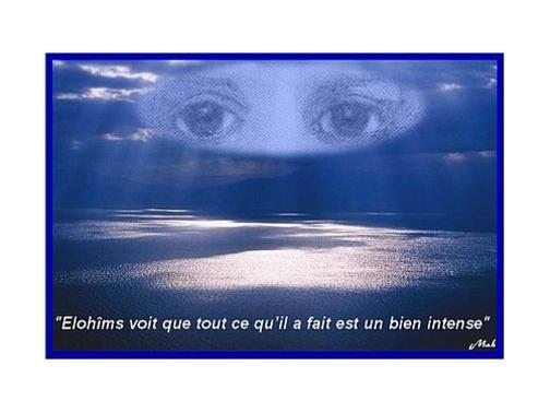 La Genèse Au commencement Elohîms dit...