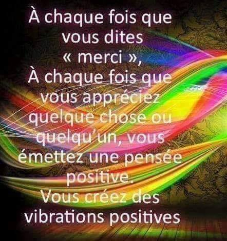 Vibrations positives !