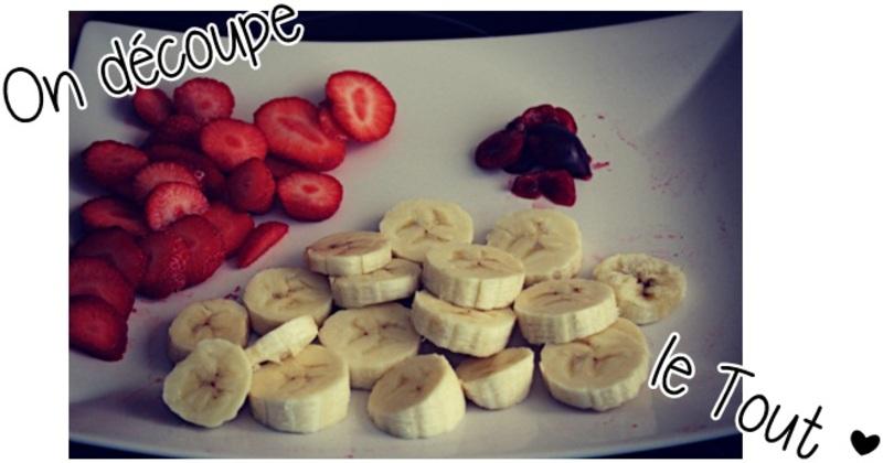Recette n°1 (1ère partie) ➸ 3 smoothies, simples, diététiques et maison.