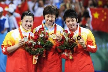 tennis de table femmes pékin 2008