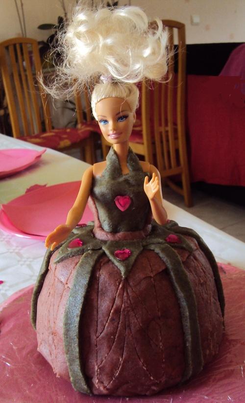 Défi du lundi : Gâteau barbie