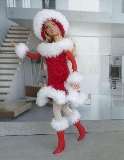 Ma barbie Noël : Sorbet