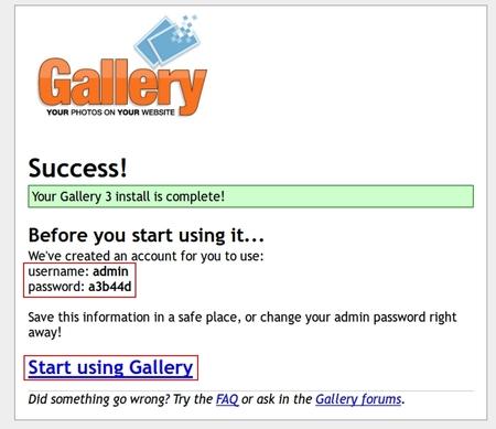 Installer Gallery 3 sur Debian Jessie