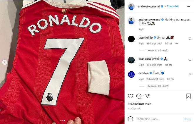 SAO Everton bị tố ăn mừng khiêu khích Ronaldo: Sự thật khiến triệu fan ngỡ ngàng - 3