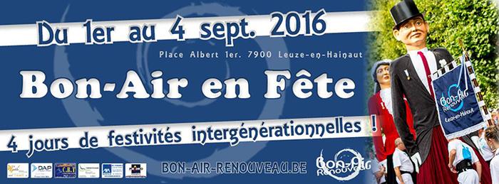 Bon-Air en Fête, à Lauze-En-Hainaut (B)