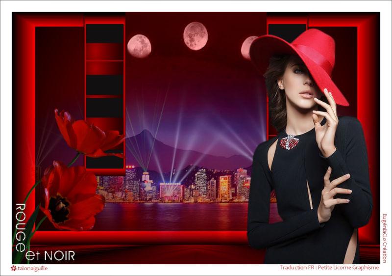 *** Noir et Rouge  ***