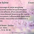 Sainte sylvie - 5 novembre 2014