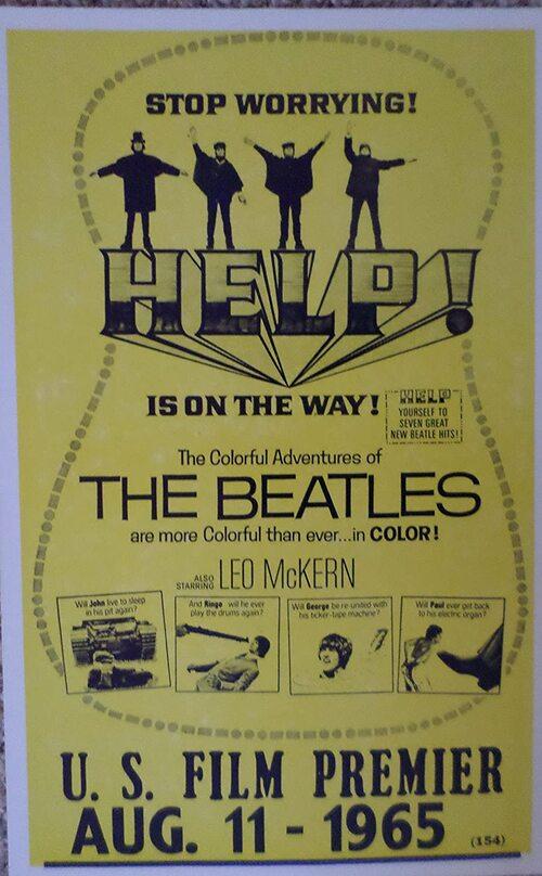 HELP! BOX OFFICE USA 1965
