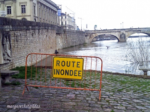 Inondation à Saumur - Inundation in Saumur