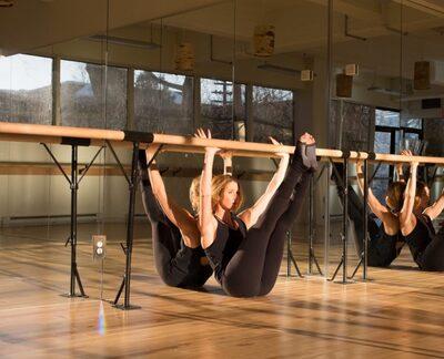 dance ballet barre class fitness studio
