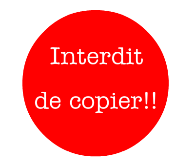 Stop au Copier-Coller sans la Source