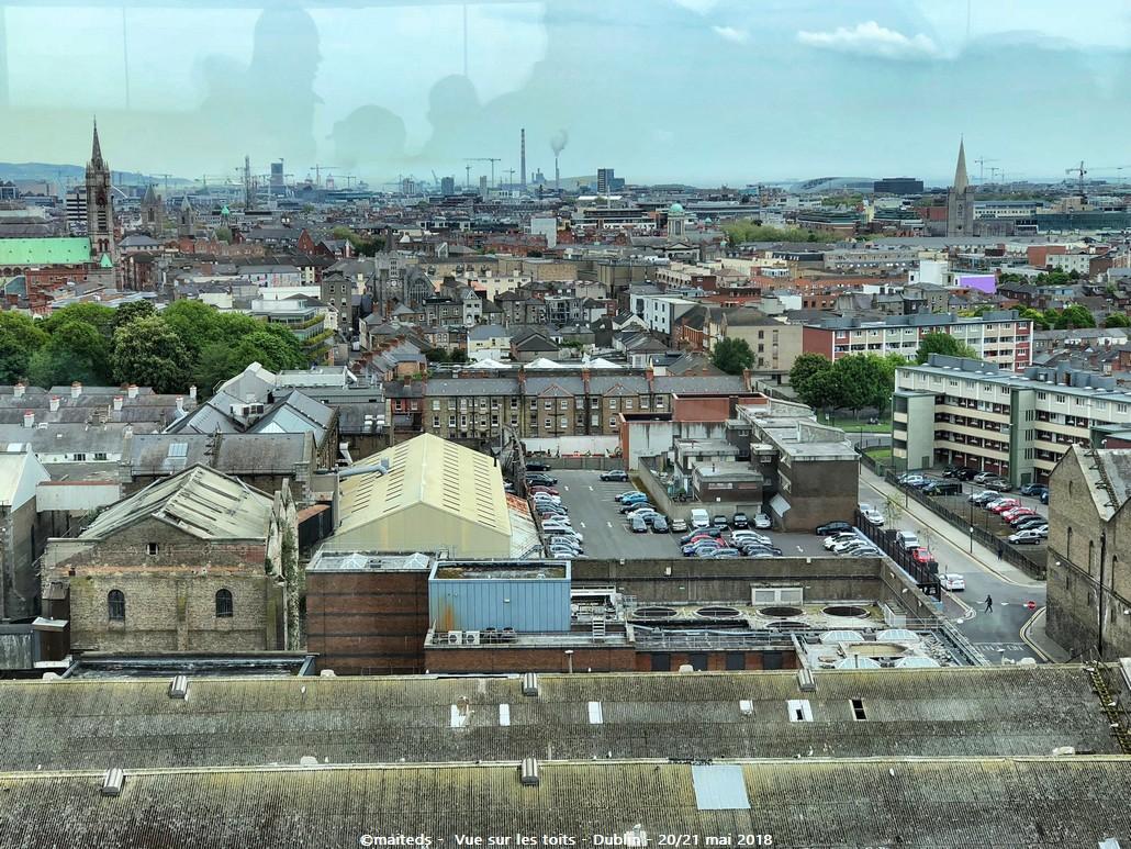 Dublin - Irlande (13) Vue sur les toits