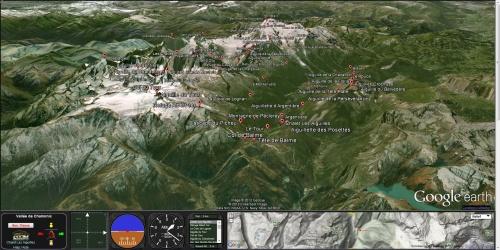 Visite virtuelle des Alpes