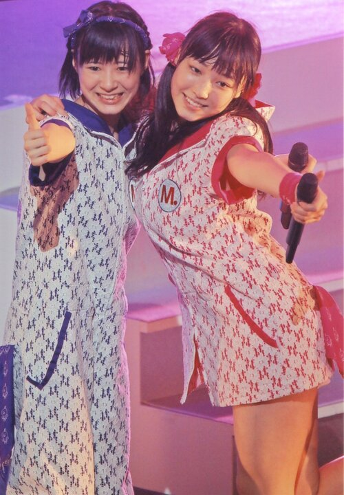 Mizuki Fukumura  譜久村聖 Erina Ikuta 生田衣梨奈 Morning Musume Concert Tour 2012 Haru Ultra Smart