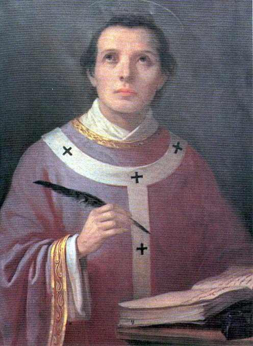 Saint Anselme de Cantorbéry. Archevêque, docteur de l'Eglise († 1109)