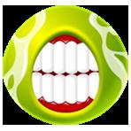 Gros Emoticons Verts