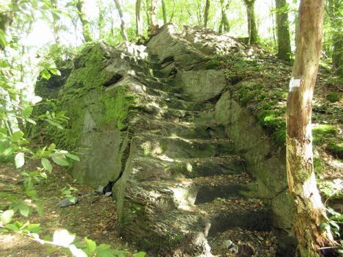 Escalier vers le bastion Sud