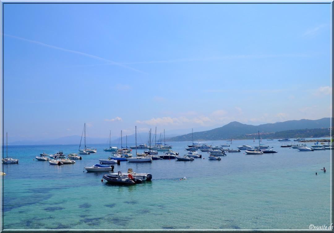 La mer - Ile-Rousse - Corse - 26-07-2014