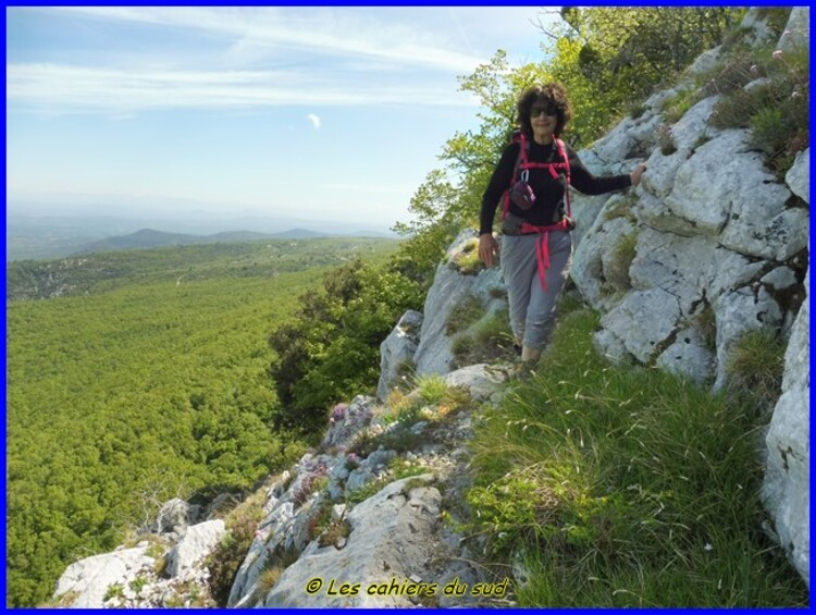 Sainte Baume - la voie Gombault, le sentier Estruch