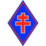 * Trésors d'Archives - Remise de la croix du combattant à trois anciens de la 1ère DFL.