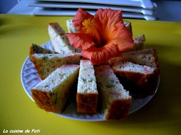 Cakes au saumon fumé