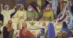 Seder de Pessah ou dîner de l'Adôn