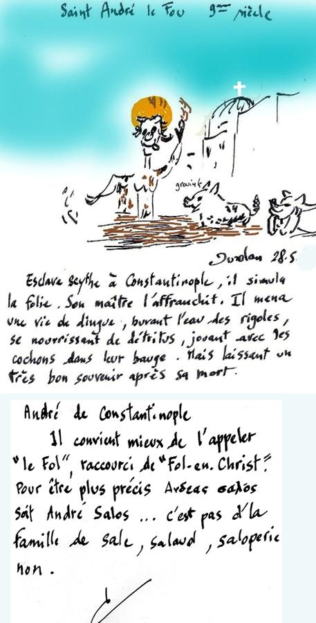 Constantinople/St André,,Scythe classé/ Ste Sophie