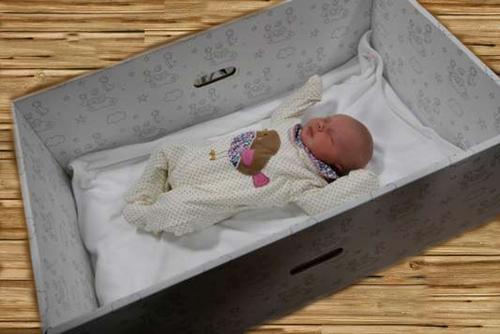 La Baby-Box ou berceau bébé moderne