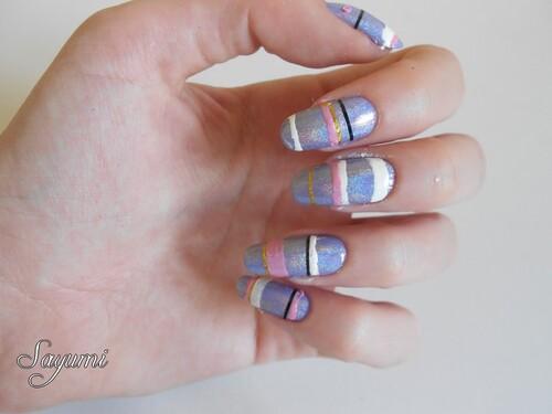 Nail Art foiré - la géométrie pour les nuls
