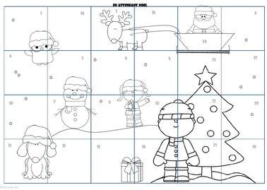 * Noël: Décorer la classe