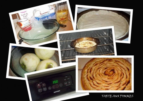 Ma tarte aux pommes.
