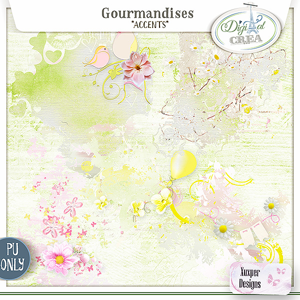 Gourmandises Accents de Xuxper Designs