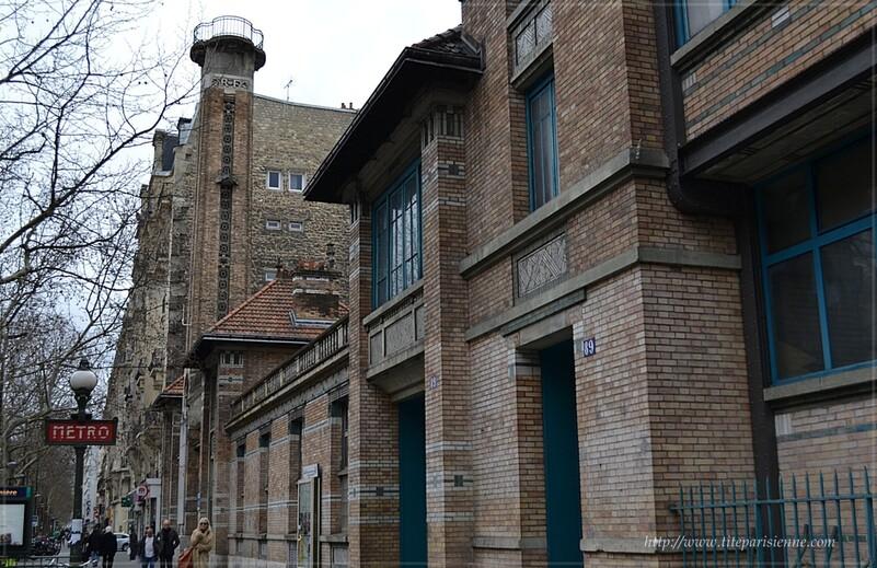 Le Gymnase Jean-Jaurès - Paris 19ème