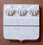 Sculpture sur pierre, armoiries de Chateauneuf-Auxois - Arts et sculpture: sculpteur sur pierre