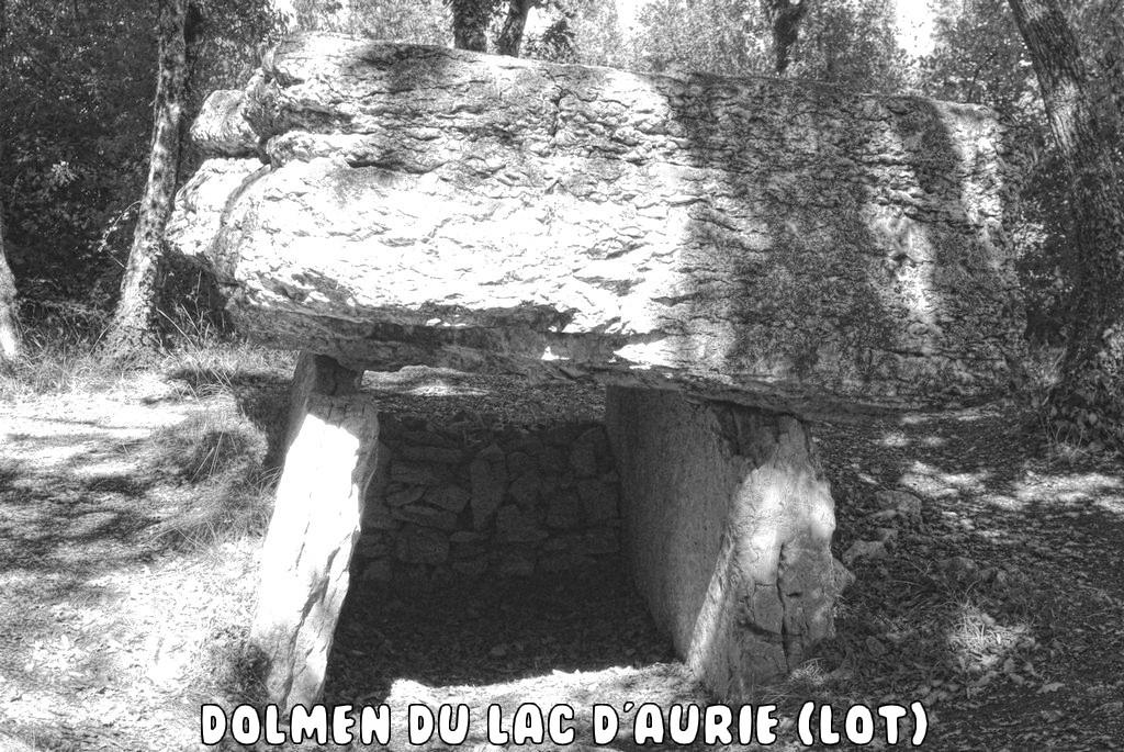 DOLMEN DE LA VERNHIETE (AVEYRON)