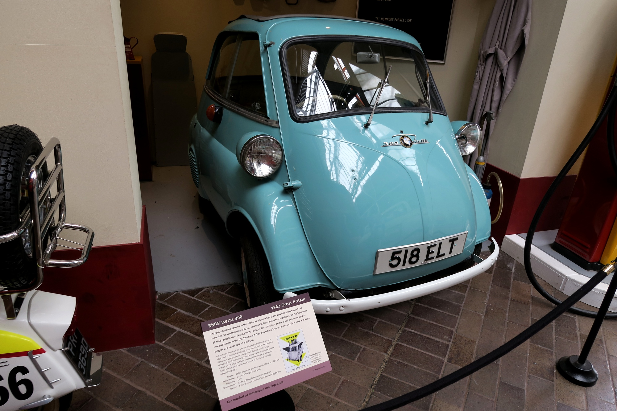 BEAULIEU. Isetta 3000 de 1962 (BMW)