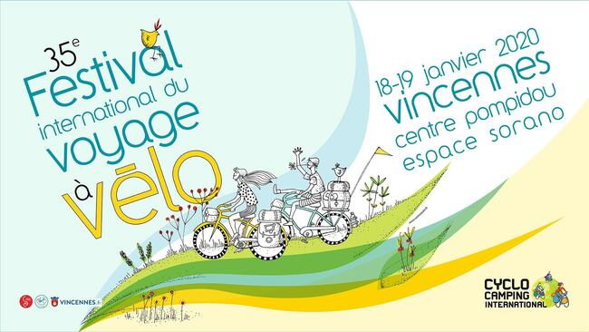 Festival du voyage à vélo de Vincennes 2020 (compte rendu, photos et vidéo)