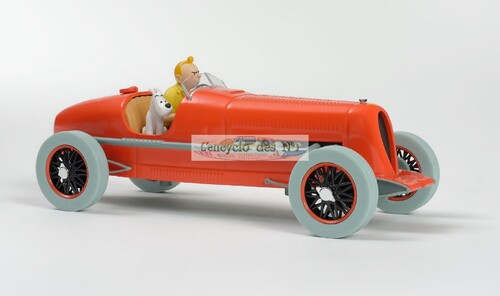 N° 1 Les voitures de Tintin - Lancement