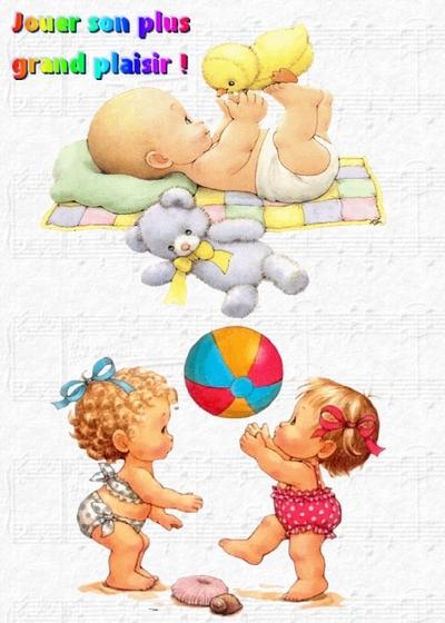 Un jouet adapté à chaque âge de l'enfance
