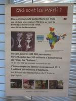 """Exposition à la médiathèque """"A la rencontre des Adivasi"""" (5)"""
