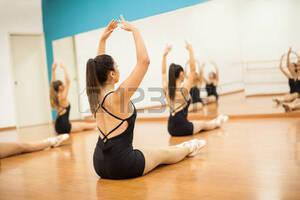dance ballet class stretching ballet