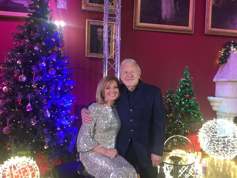 Mary Kennedy et Colm Wilkinson  Déc 2019